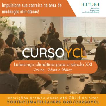 Curso YCL – Liderança climática para o século XXI: Saiba como foi a última edição e se inscreva para a próxima