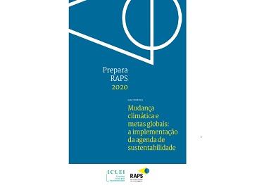 ICLEI, RAPS e outras organizações desenvolvem guias temáticos para as eleições de 2020