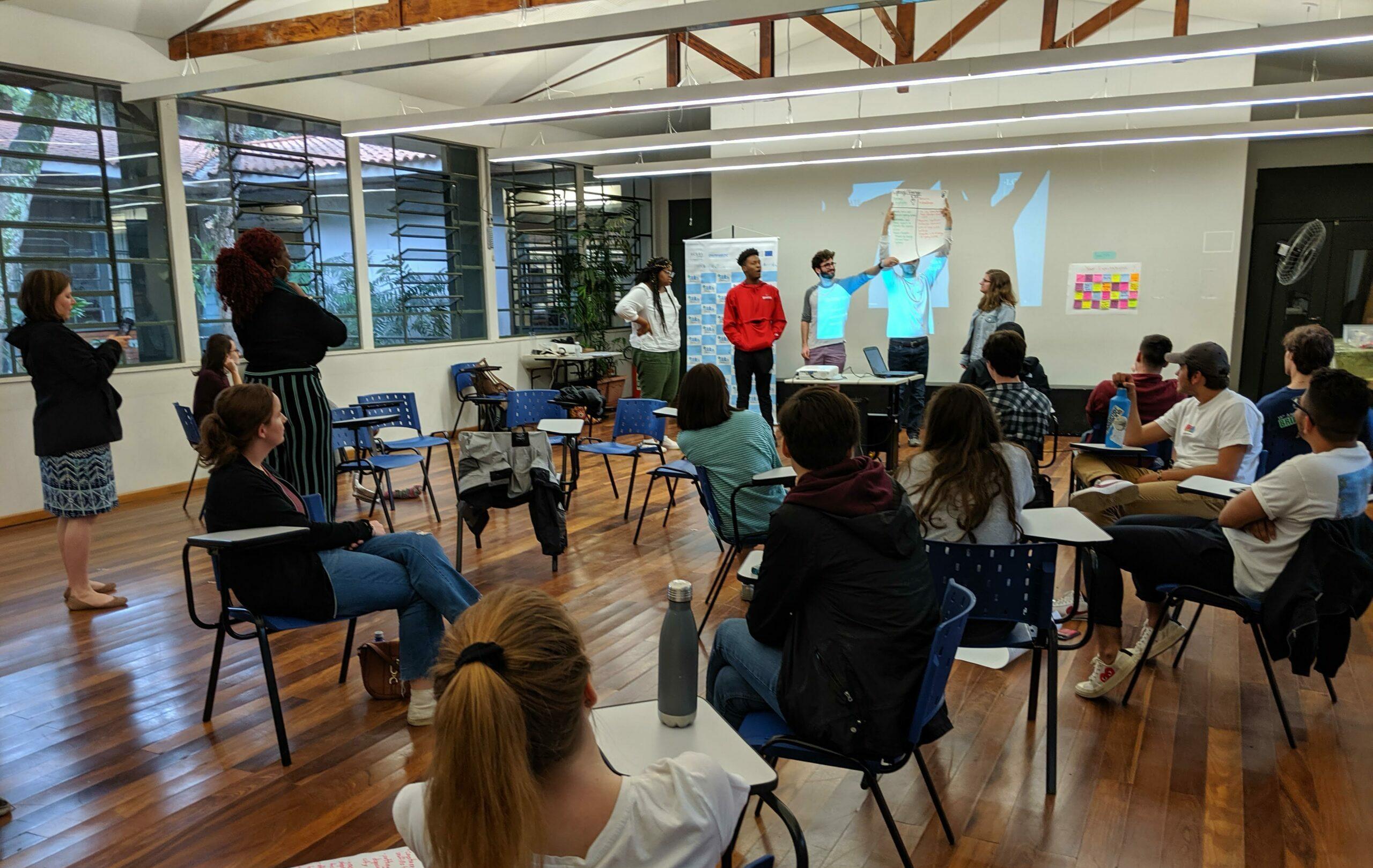Juventudes se engajam na construção do Plano Local de Ação Climática
