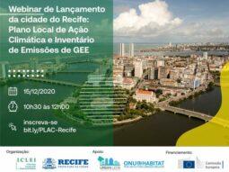 Webinar de Apresentação do Plano Local de Ação Climática (PLAC) do Recife