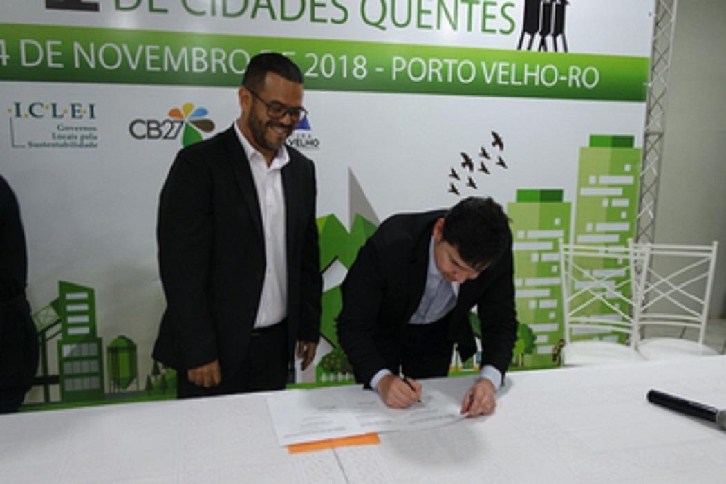 Porto Velho adere à rede global de sustentabilidade ICLEI durante I Fórum de Cidades Quentes