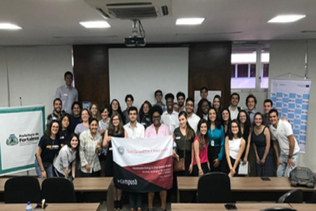 Plano de Ação Climática de Fortaleza é foco de estudo de delegação da Universidade americana Northeastern
