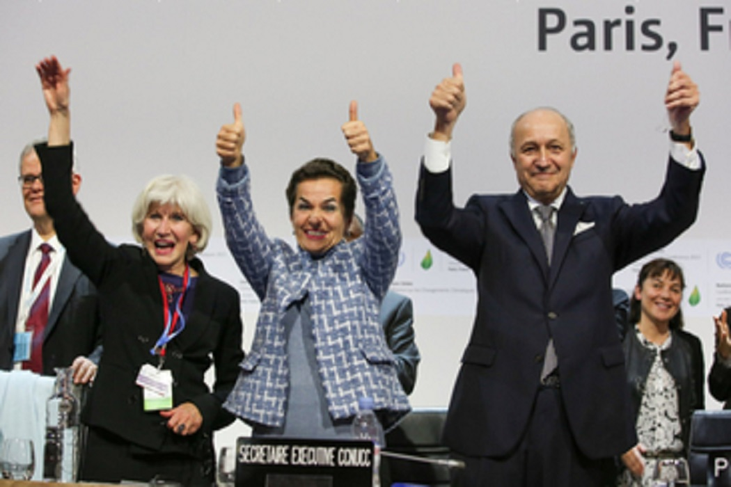 ICLEI recebe positivamente o histórico Acordo de Paris
