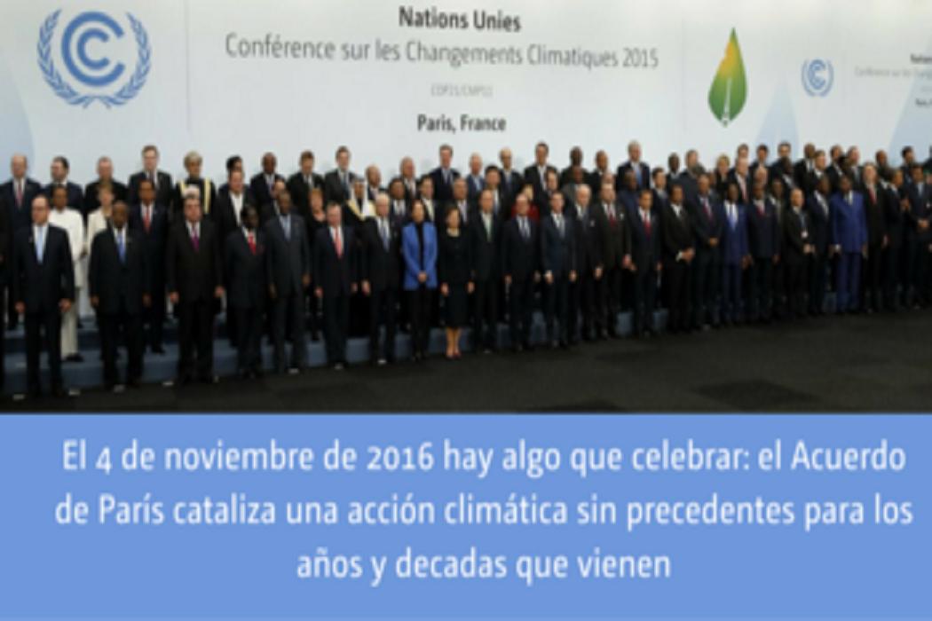 Enquanto Nações preparam-se para a COP22, Acordo de Paris entra em vigor no dia 4 de Novembro
