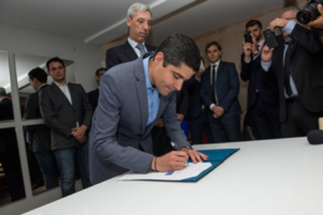 Antônio Carlos Magalhães Neto, Prefeito de Salvador, Bahia, junta-se ao Pacto Global de Prefeitos pelo Clima e Energia