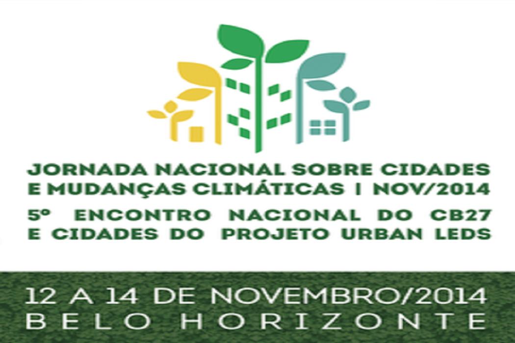 Cidades se reunirão para discutir as Mudanças Climáticas na Jornada Nacional em BH