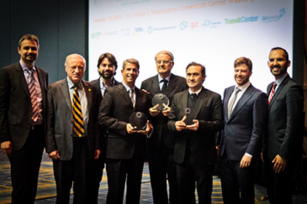 Belo Horizonte, Rio de Janeiro e São Paulo ganham juntas prêmio internacional de transporte sustentável