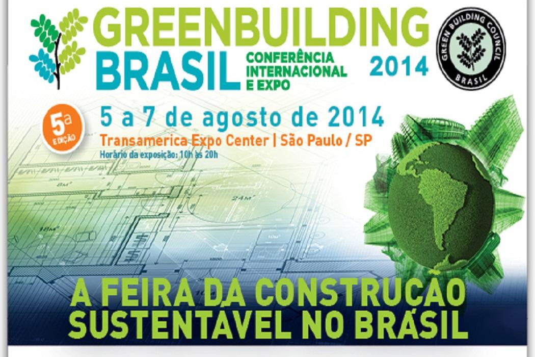 A Feira da Construção Sustentável no Brasil