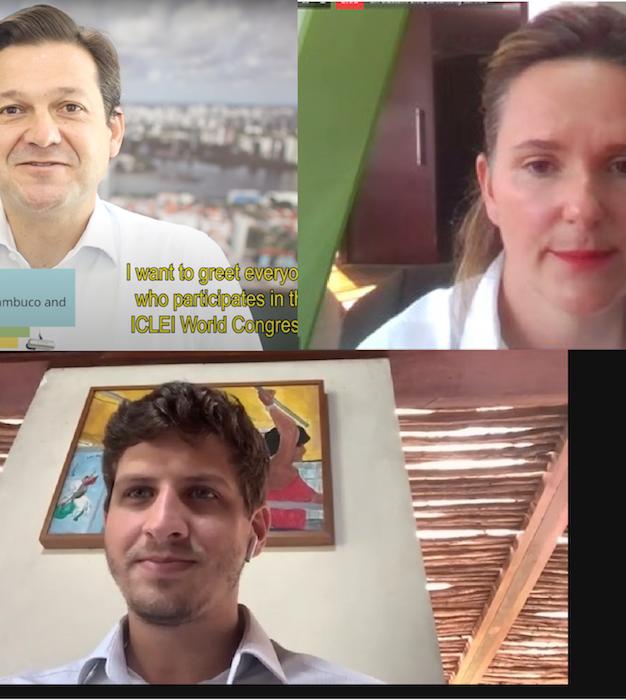 Líderes locais apresentam os desafios verdes no Congresso Mundial do ICLEI